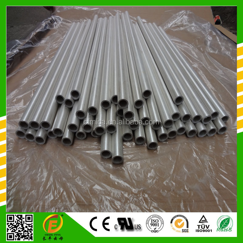High-temperature resistance laminated mica insulation tube with mechanical strength