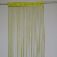 Solid glass string door curtain for decorative