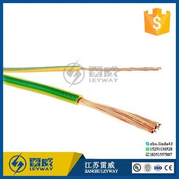 Cu/pvc Y/g Kabel Elektrische Erde Kabel Und Draht - Buy Product on ...