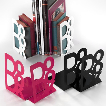 Metal Cheap BOOK Shape Bookend