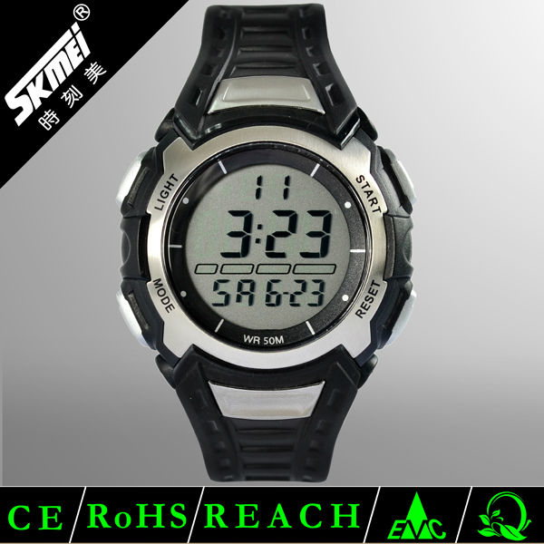 High end quality analog d sport digital plastic watches
