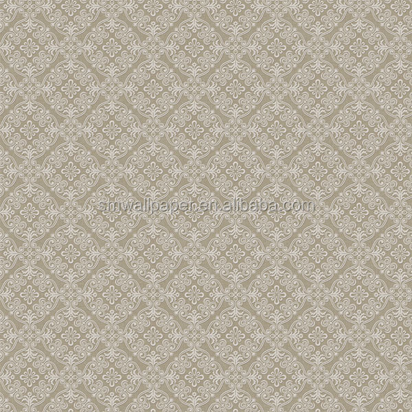 new wallpaper design soundproof pure color wall paper for hotel room