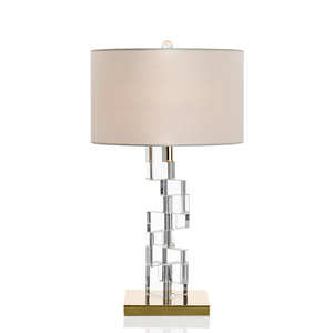 luxury designer crystal chandelier table lamp for bedside