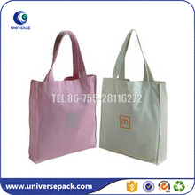 Popular eco-friendly customized handmade cotton bags