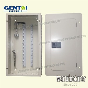 Good Quality Single Phase FTMC SPN 10Way 100A Plug in distribution board