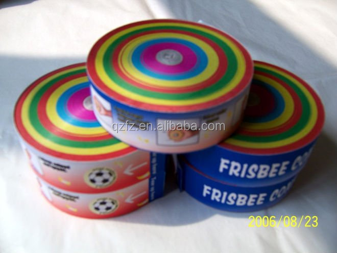 China manufacturer made streamer frisbee confetti
