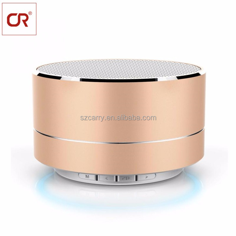 Computer Home Theatre Mobile Phone Portable Audio <strong>Player</strong> Use And Portable Wireless Mini Special Feature Round Bluetooth Speaker