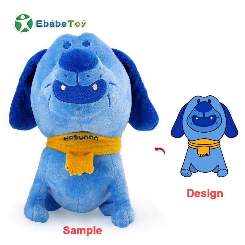 OEM plush doll stuffed toy factory specialize wholesale plush toys animal idol dog oem plush Soft doll toy