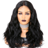 250% Density Wig Body Wave Virgin Human Hair Lace Wigs Mongolian Hair Lace Wig