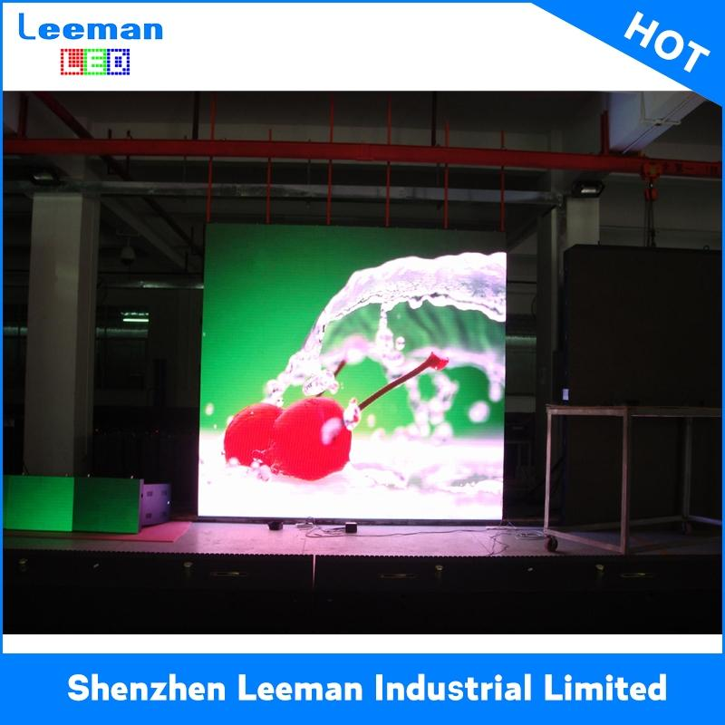 outdoor led display LCD PROJECTOR p6.25 500*500mm indoor die cast aluminum rental led display cabinets