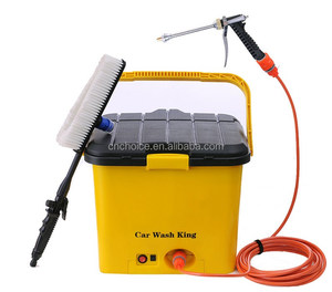 2017 portable 20L car washing, automatic dc 12v car washer