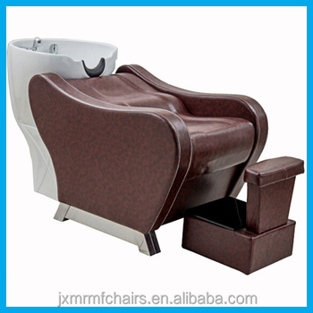 Shampoo bowl basin wash unit salon shampoo chairs beds for for Salon basins for sale