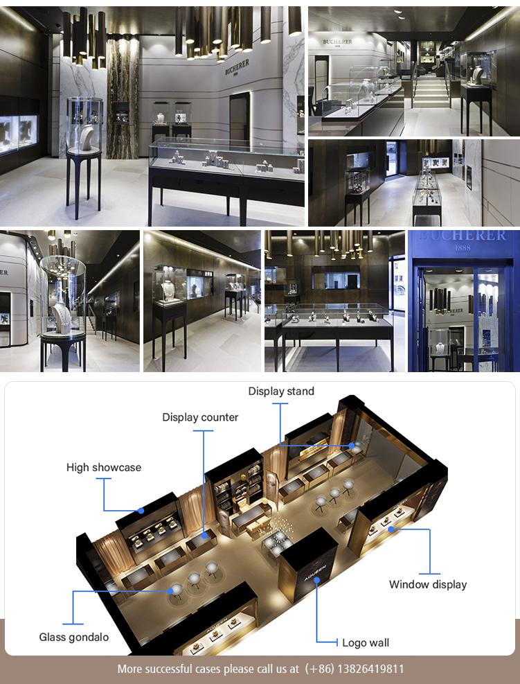 48b1fbca80d Factory Free Wooden Veneer Luxury Glass Cabinet Shop Pandora Jewelry  Display Unit, View Pandora Jewelry Display, OUYEE Product Details from  Guangzhou ...