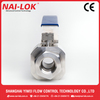 SS 316 Ball Valve BH Series Ball Valve Price Fast Delivering Pressure 3000psi