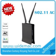 ac wireless router with Realtek MT7620A +7610EN chipest (WD-8310AC)