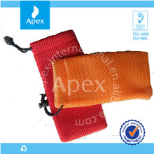 Drawstring Cell phone pouch bag