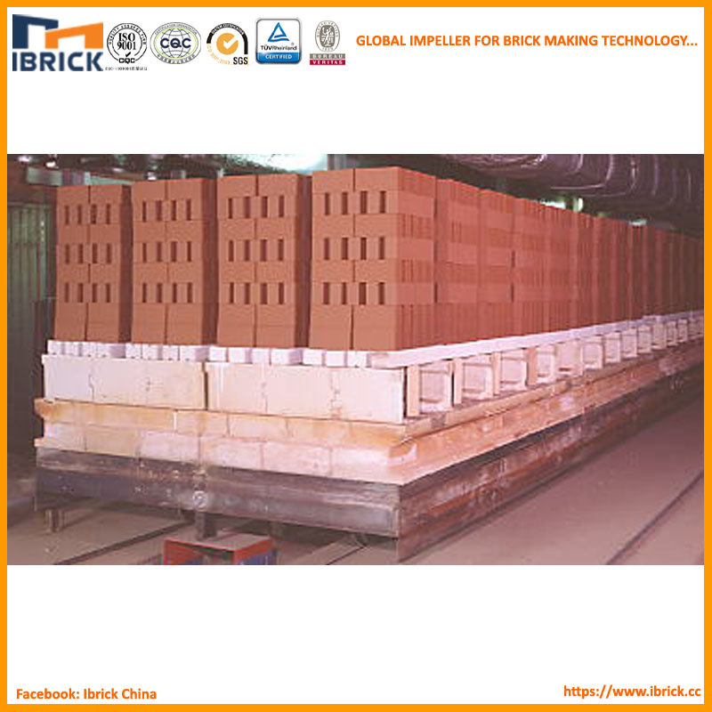 Small investment high yield brick tunnel kiln project with dryer chamber brick drying system