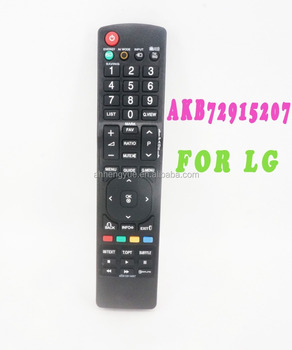 akb72915207 remote control for lg tv universal remote codes rh alibaba com lg lcd tv remote control manual LG TV Remote Control