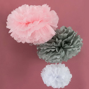 Quality durable best sale paper pompoms arts and crafts