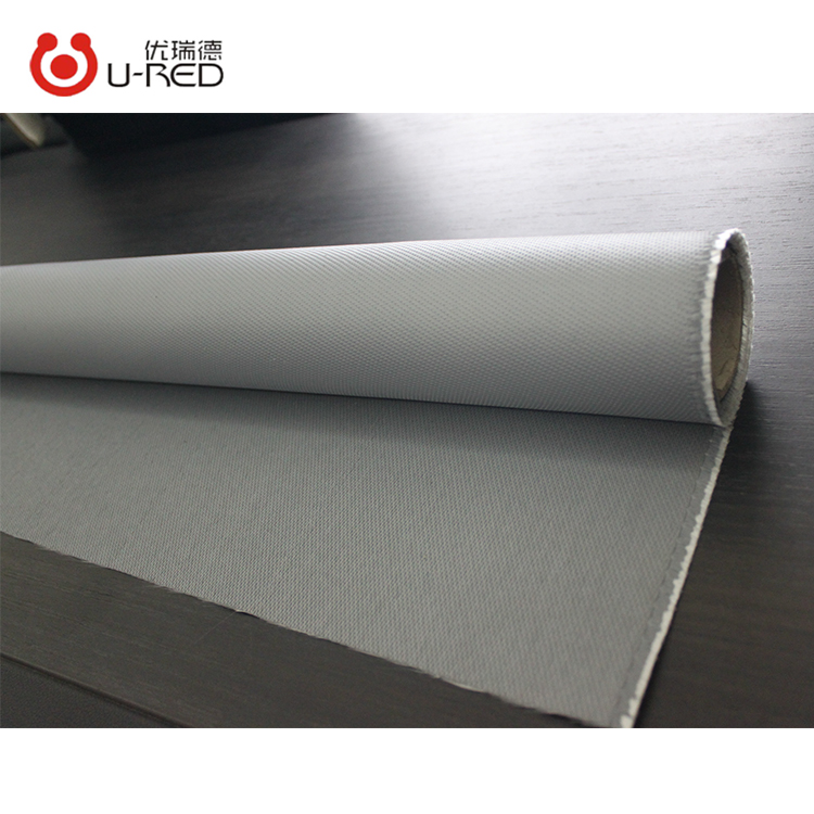 Customized Waterproof Covering Material Silicone Rubber Coated Fiberglass