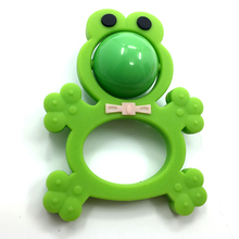 Wholesale Funny Non-toxic BPA Free Silicone Teether Baby Toy Rattle
