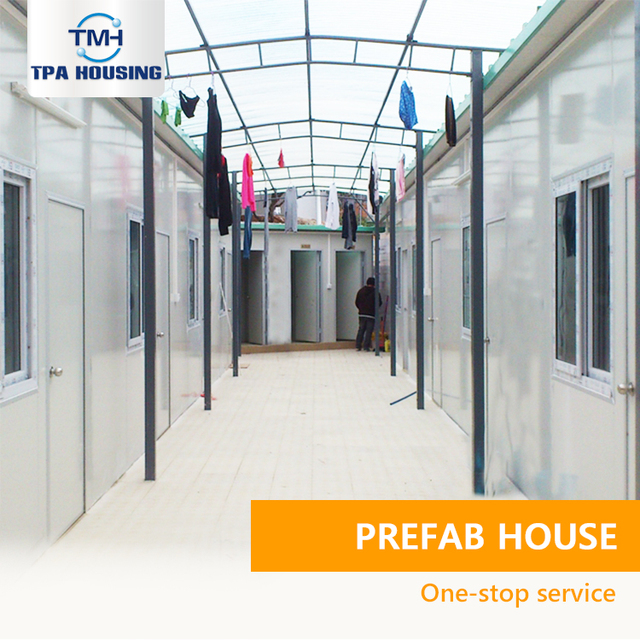 Fast Constructed Fast Constructed Modern Labor Camp Prefabricated House Kit In Malaysia