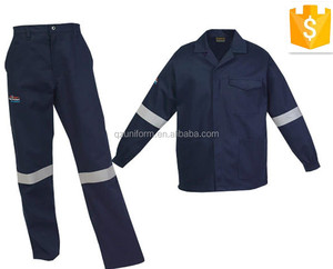 High Visibility Durable Comfortable Coveralls Uniform Design for construction and mechanic workers