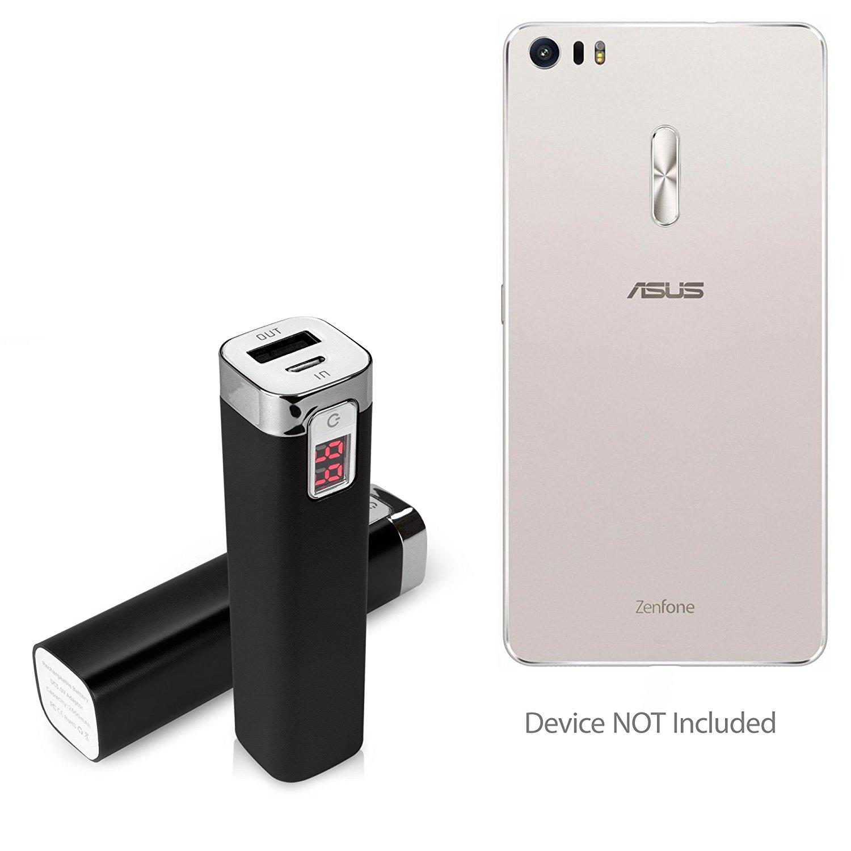 ASUS Zenfone 3 Ultra (ZU680KL) Battery, BoxWave [Rejuva Power Pack] 2600 mAh Backup Battery for ASUS Zenfone 3 Ultra (ZU680KL) - Jet Black
