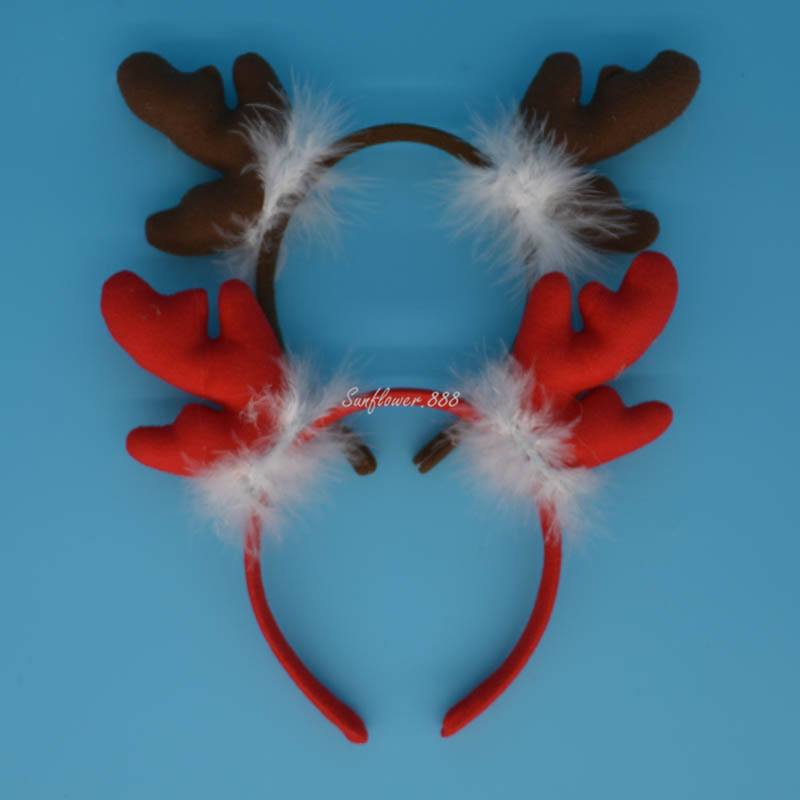 Halloween Party Horn Deer Antlers Ears Headband Headwear font b Fancy b font font b Dress