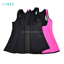 Women Slimming Corset Vest Latex Body Shaper Underwear