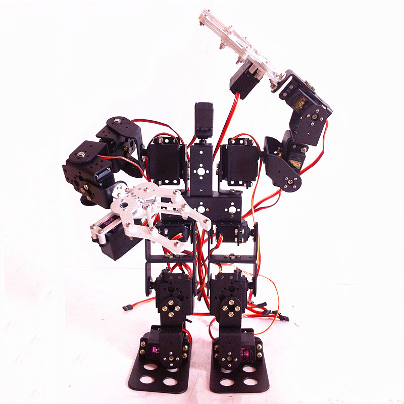 Diy Robot Toy Kit Walking Robot With Claw15 Degrees Of Freedom Humanoid Biped Robot Kit Buy Robot Toy Robot Kit Humanoid Robots Product On