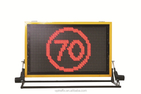 LED Outdoor Ads Changeable Road Truck Mounted Display Sign Program Message Board