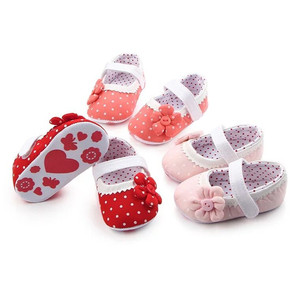 Beautiful Flower Spring Autumn Infant Baby Shoes for Girl