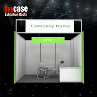 3*3 Standard Exhibition Booth Shell Scheme Booth
