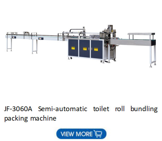 Automatic toilet roll industrial roll production line
