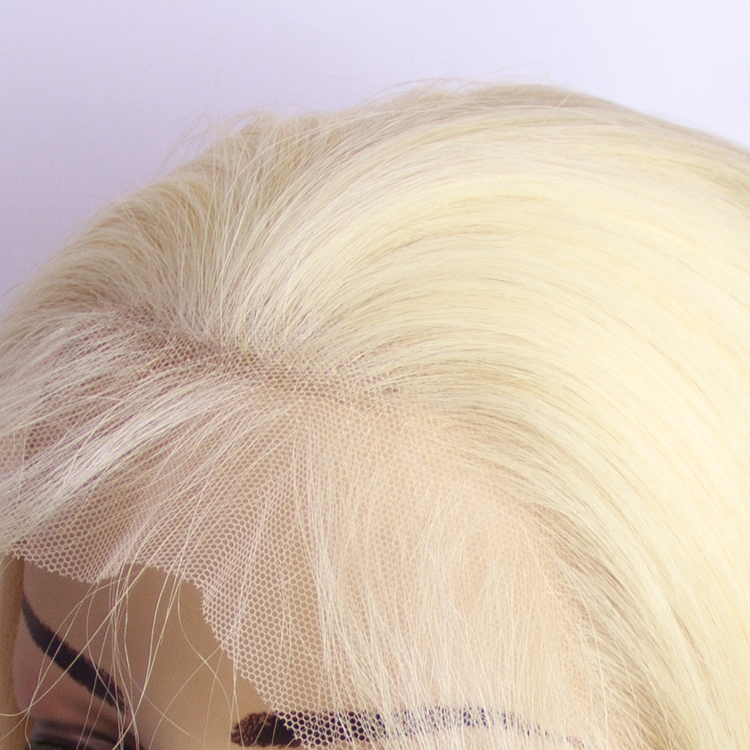 HD Lace Skin Frontal Closure Wig Wholesale 613 blonde bob factory price Brazilian human lace front hair wig фото
