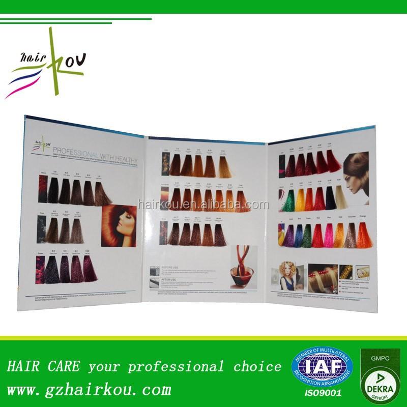 oem couleur tableau cheveux couleur swatch tableau ombre livre - Tableau Coloration Cheveux