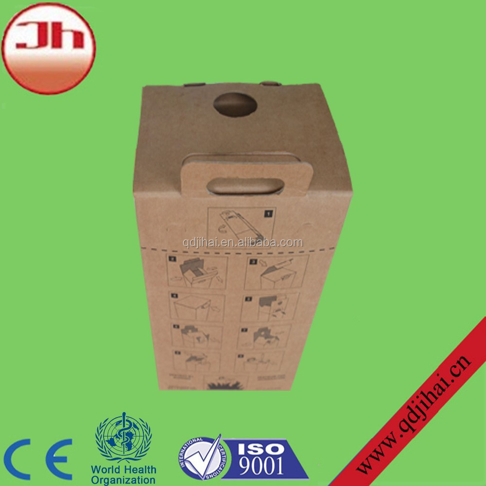 Paper Incinerator/medical Waste Container/syringe Disposal Box ...