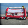 inflatable truck trampoline China quality inflatable bouncy combo jumper slide