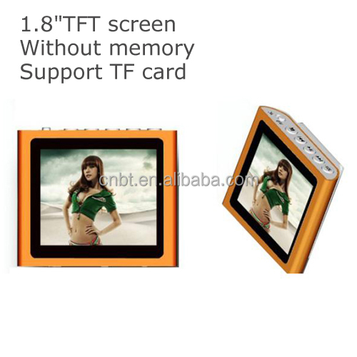 2014 hottest 1.8inch touch screen 8GB mp3 mp4 player hotsales