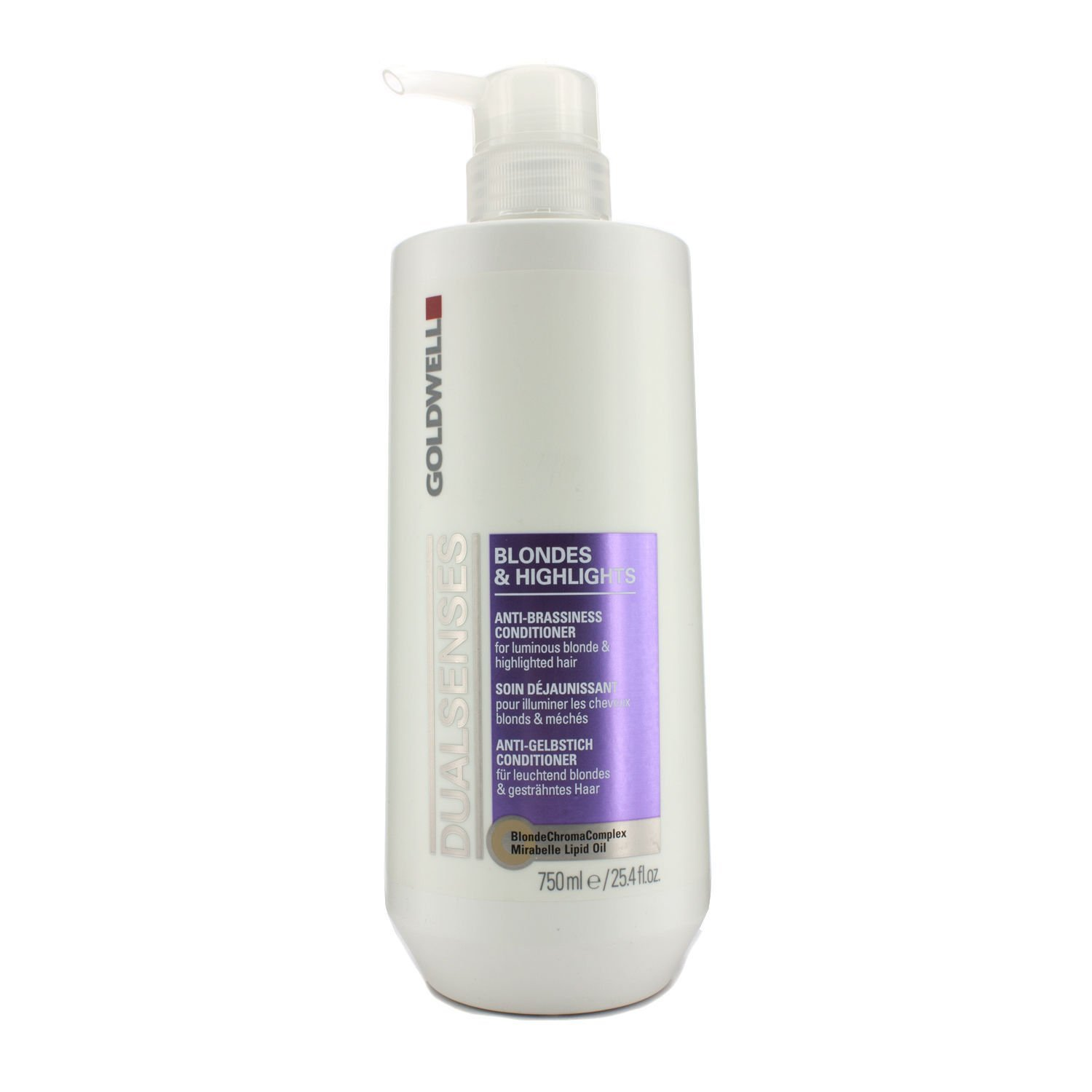 Goldwell Dualsenses Blondes & Highlights Anti-Brassiness Conditioner By Goldwell 25.4 Oz Conditioner For Unisex