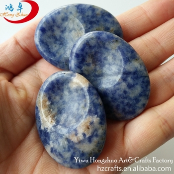 Thumb-worry-palm stones word palm stone wholesale massage