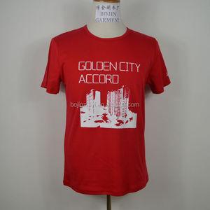 guangzhou Custom Cotton Tee Shirt /OEM plain 100% cotton T-shirts