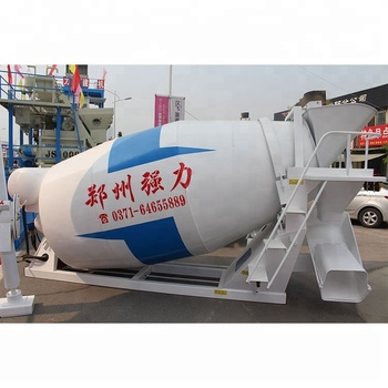 8 Cubic Meters Concrete Mixer Trucks Howo Truck Price in China