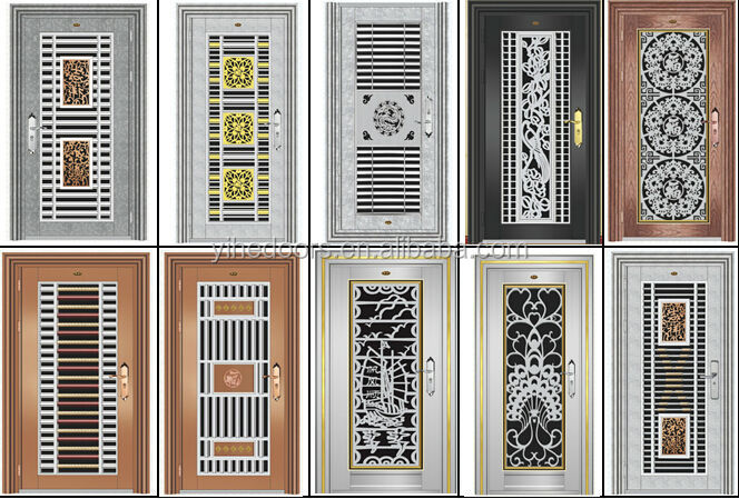 Steel Door Designs ss designer door Latest Stainless Steel Grill Door Designstainless Steel Door For Sale