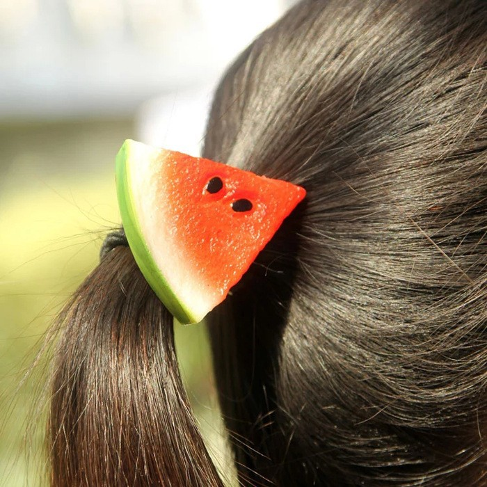 Artificial fruit ornaments hairband kid hair accessory