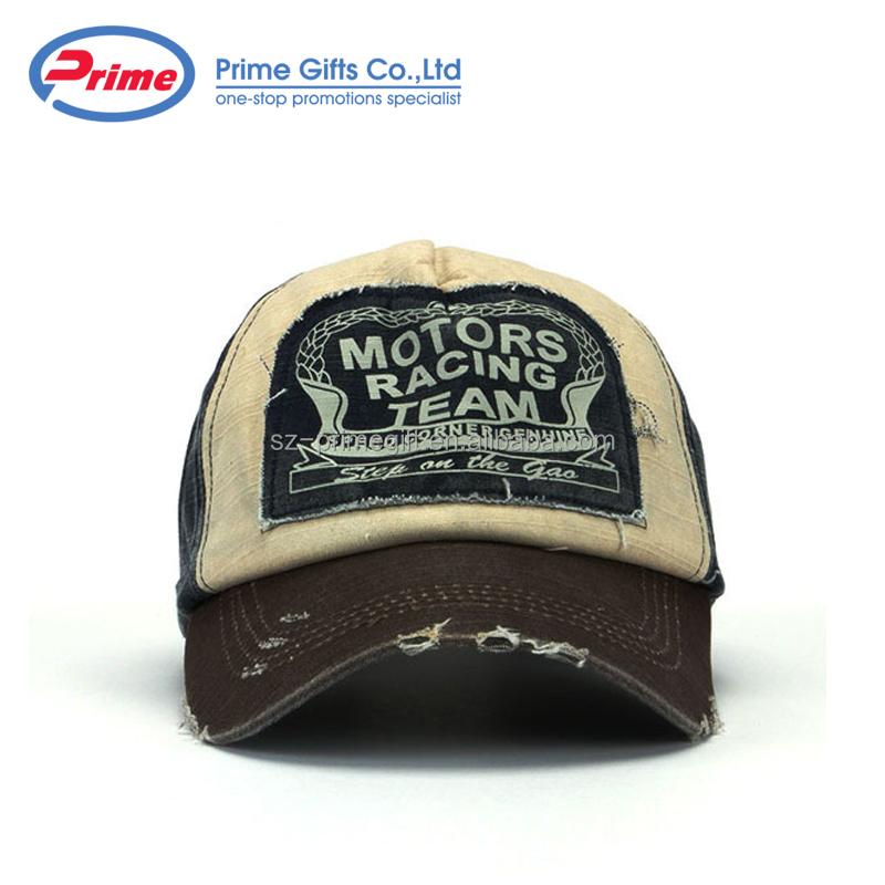 Quality Assurance Fashion Cotton Distressed Baseball <strong>Cap</strong>
