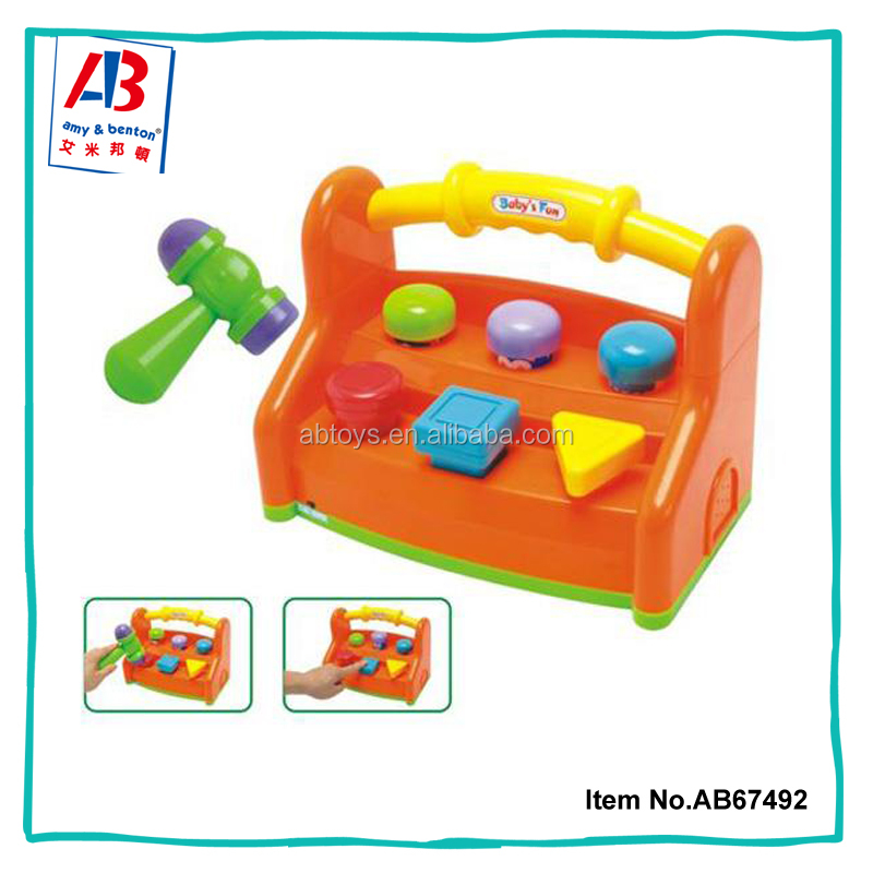 Jolly learners activity strike block baby toys 2017