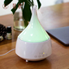2018 hot glass warm LED Ultrasonic aroma humidifier/ essential oil diffuser/ Aroma Diffuser