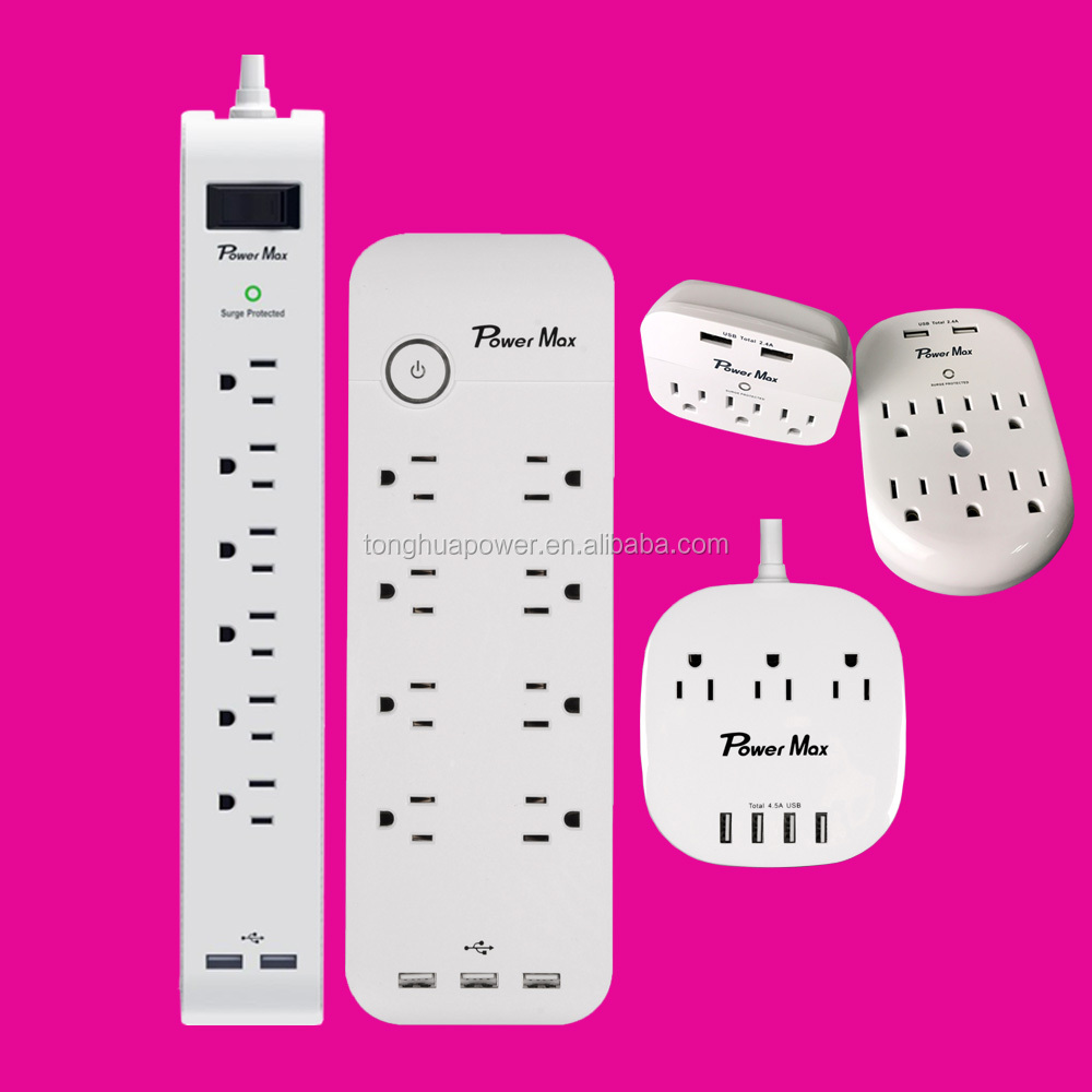 US Type 6 OUTLET POWER STRIP UL LISTED indoor/ outdoor
